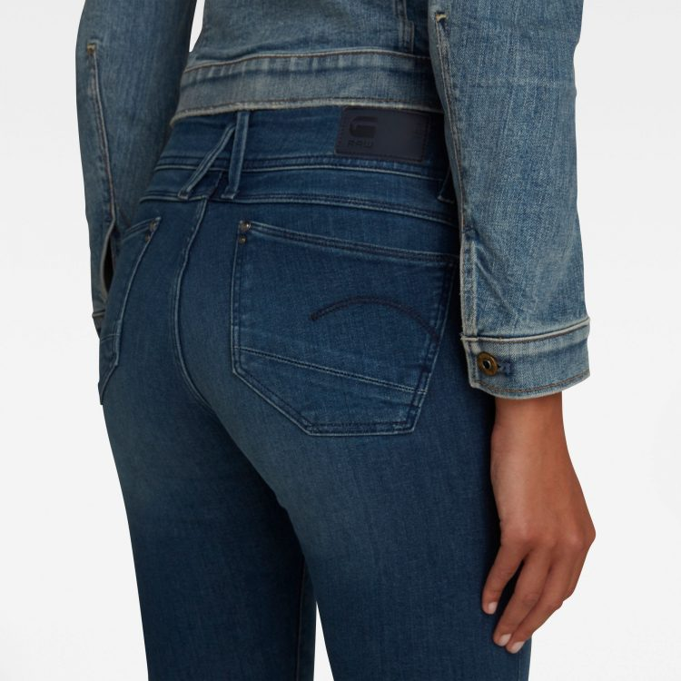 Γυναικείο παντελόνι G-Star Lynn Mid Waist Skinny Jeans   Αυθεντικό 2