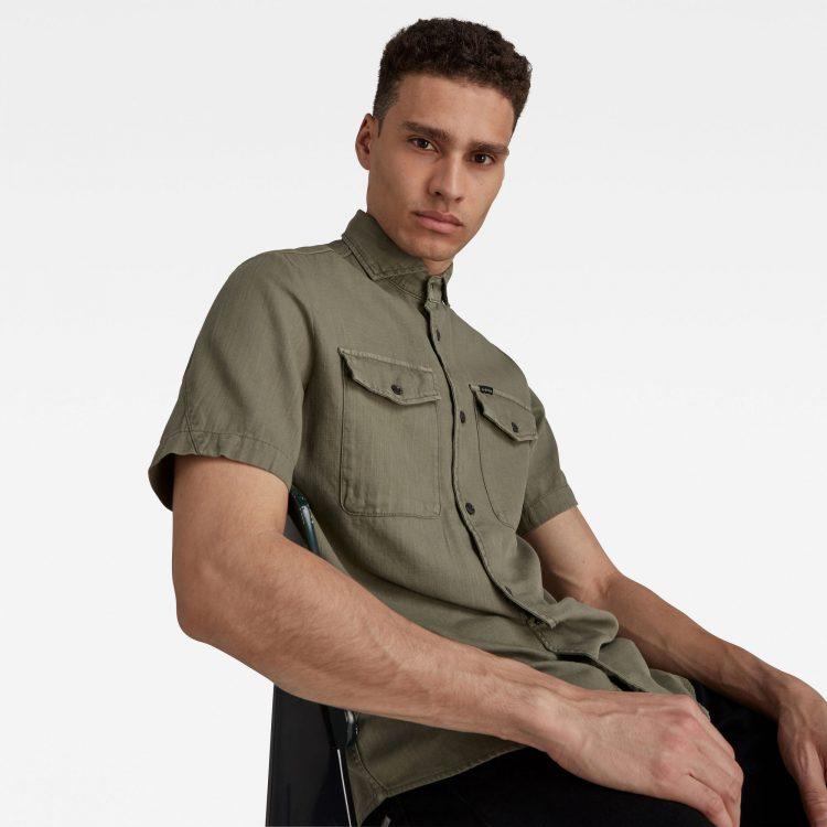 Ανδρικό Πουκάμισο G-Star Marine Service Slim Shirt | Αυθεντικό 4