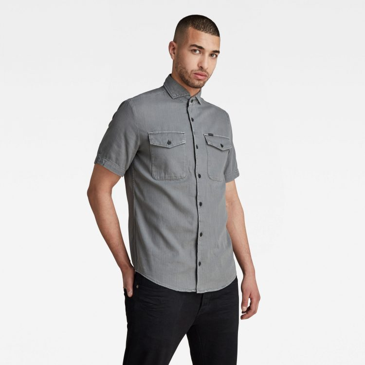 Ανδρικό Πουκάμισο G-Star Marine Service Slim Shirt | Αυθεντικό 1