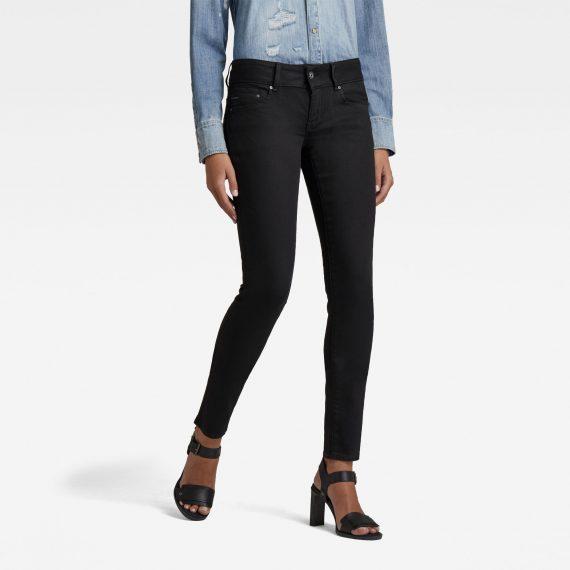 Ανδρικό παντελόνι G-Star Midge Cody Mid Waist Skinny Jeans Αυθεντικό