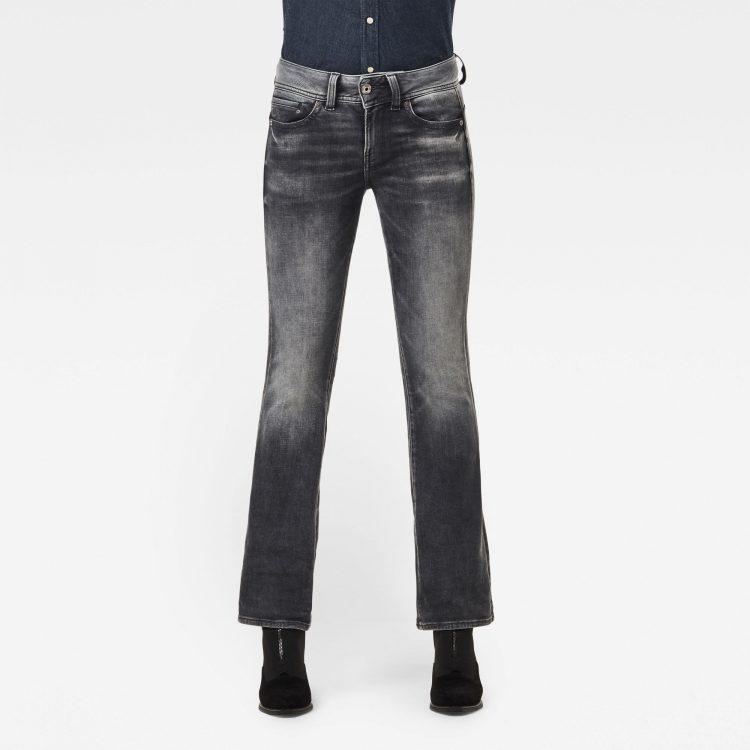 Ανδρικό παντελόνι G-Star Midge Mid Bootcut Jeans Αυθεντικό