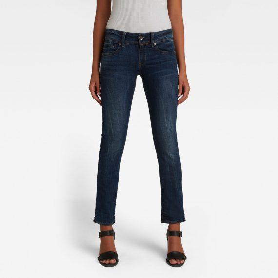 Ανδρικό παντελόνι G-Star Midge Saddle Straight Jeans Αυθεντικό