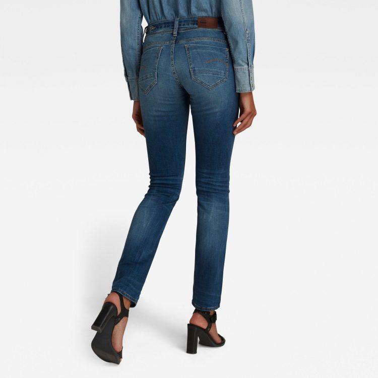 Γυναικείο παντελόνι G-Star Midge Saddle Straight Jeans | Αυθεντικό 1