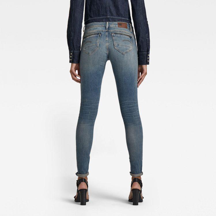 Γυναικείο παντελόνι G-Star Midge Zip Mid SkinnyJeans | Αυθεντικό 1