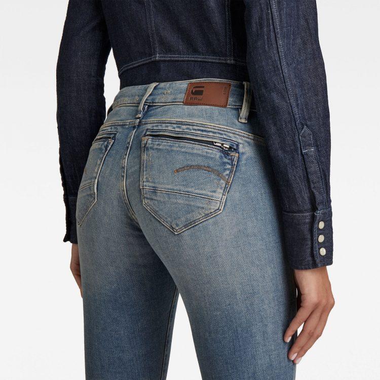 Γυναικείο παντελόνι G-Star Midge Zip Mid SkinnyJeans | Αυθεντικό 2