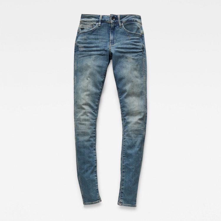 Γυναικείο παντελόνι G-Star Midge Zip Mid SkinnyJeans | Αυθεντικό 3