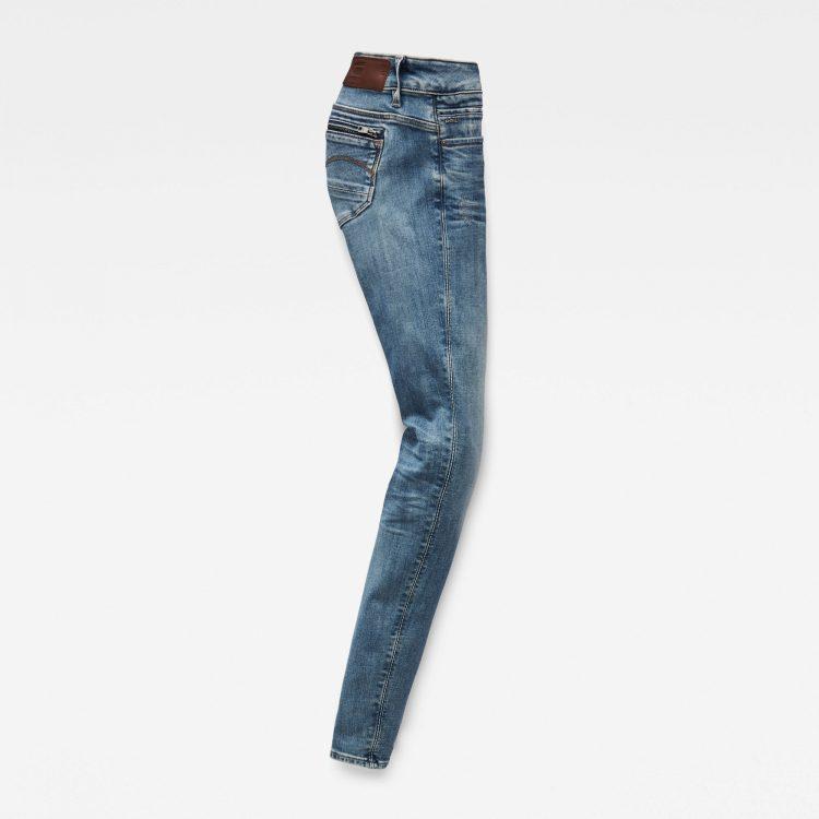 Γυναικείο παντελόνι G-Star Midge Zip Mid SkinnyJeans | Αυθεντικό 4