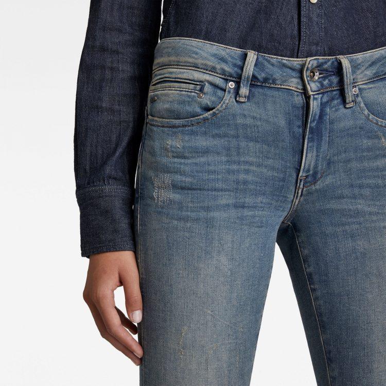 Γυναικείο παντελόνι G-Star Midge Zip Mid SkinnyJeans | Αυθεντικό 5