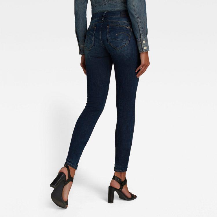 Γυναικείο παντελόνι G-Star Midge Zip Mid-Waist Skinny Jeans | Αυθεντικό 1