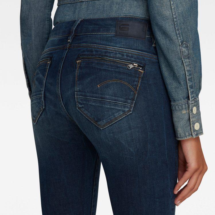 Γυναικείο παντελόνι G-Star Midge Zip Mid-Waist Skinny Jeans | Αυθεντικό 2