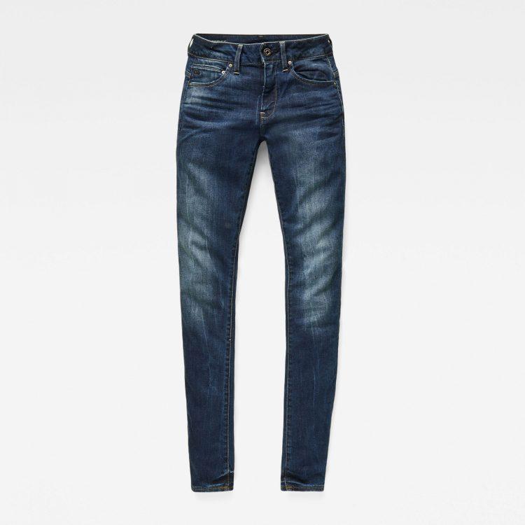 Γυναικείο παντελόνι G-Star Midge Zip Mid-Waist Skinny Jeans | Αυθεντικό 3