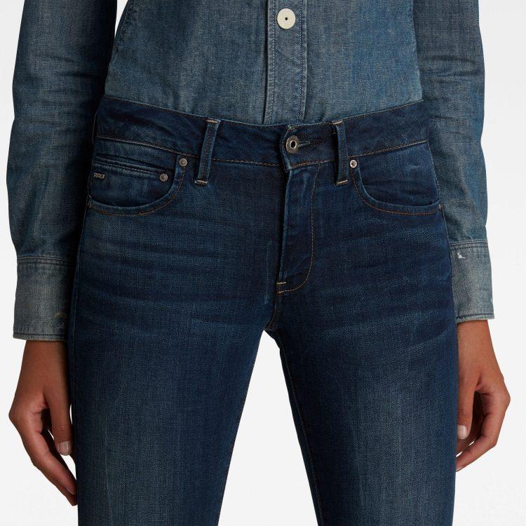 Γυναικείο παντελόνι G-Star Midge Zip Mid-Waist Skinny Jeans | Αυθεντικό 4