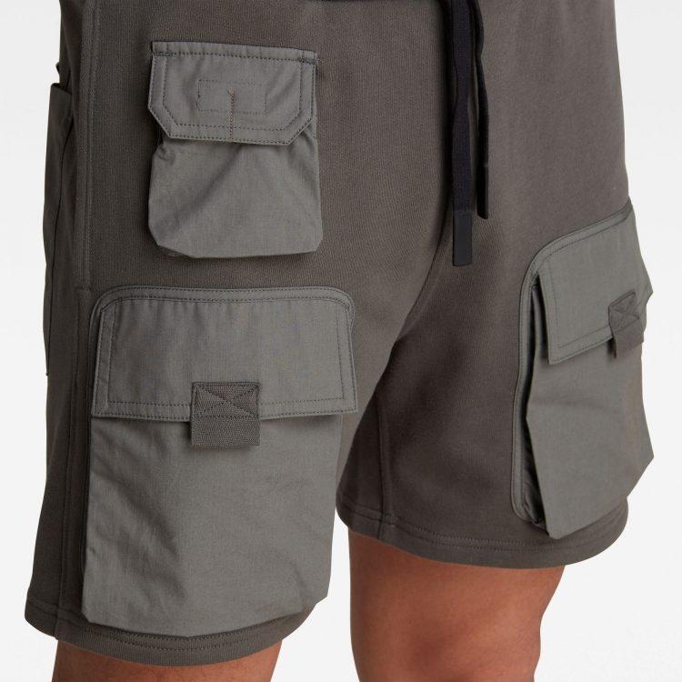 Ανδρική βερμούδα G-Star Mixed Woven Cargo Sweat Shorts | Αυθεντικό 4