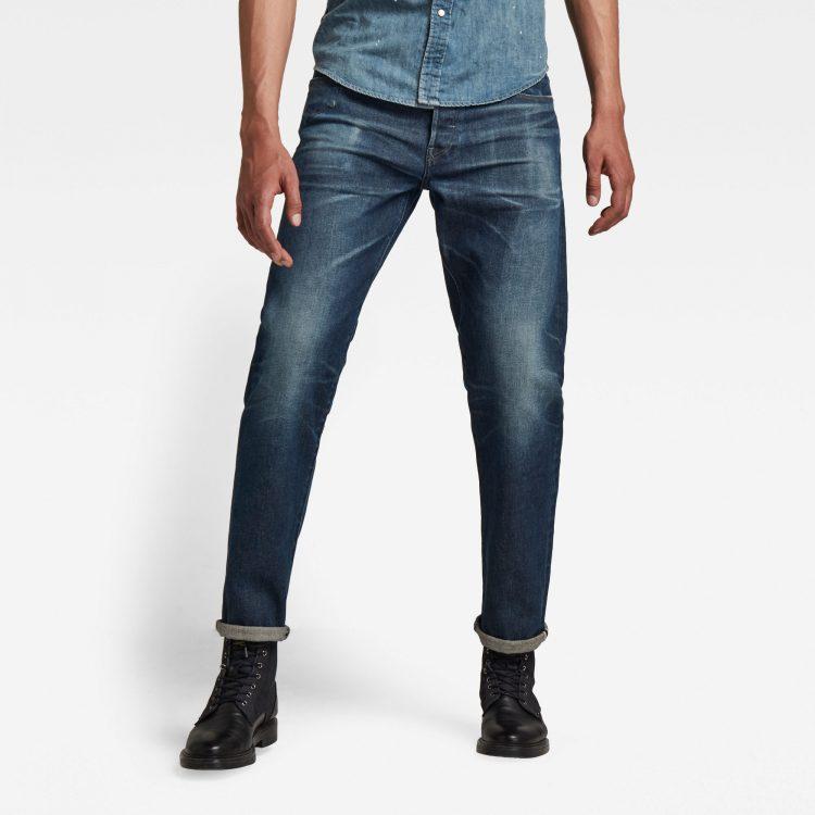 Ανδρικό παντελόνι G-Star Morry Relaxed Tapered Selvedge Jeans Αυθεντικό