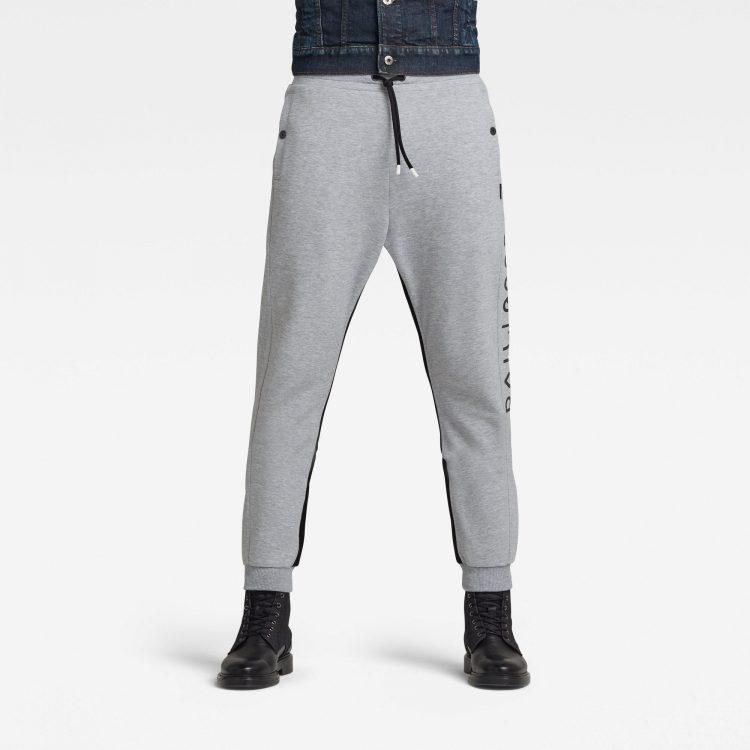 Ανδρικό παντελόνι G-Star Moto Mixed Mesh Sweatpants Αυθεντικό