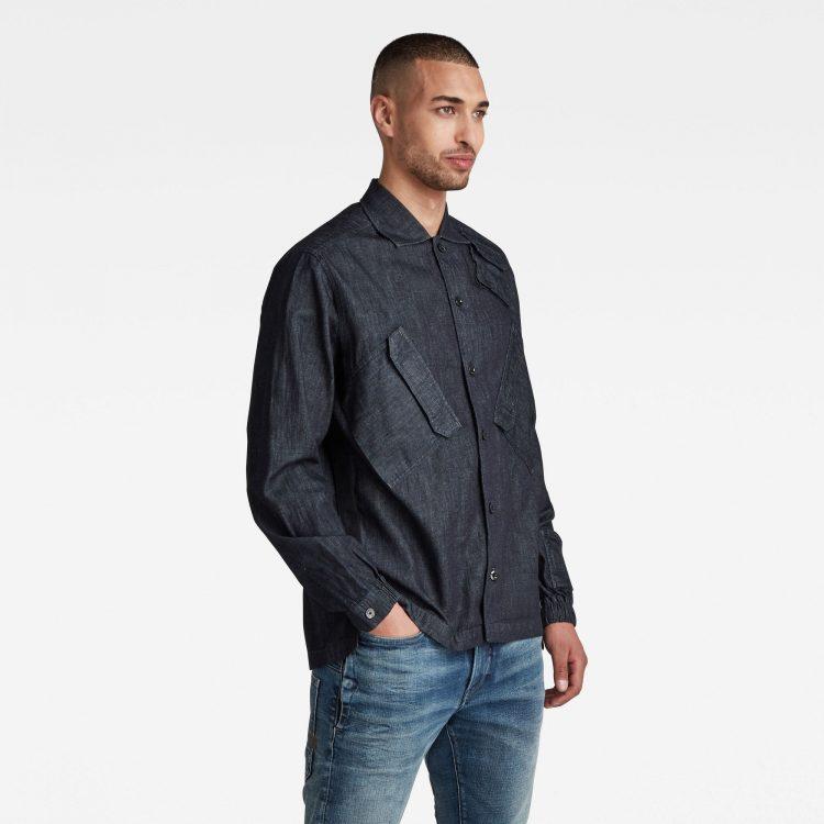 Ανδρικό Πουκάμισο G-Star Multi Slant Pocket Denim Relaxed Shirt | Αυθεντικό 1