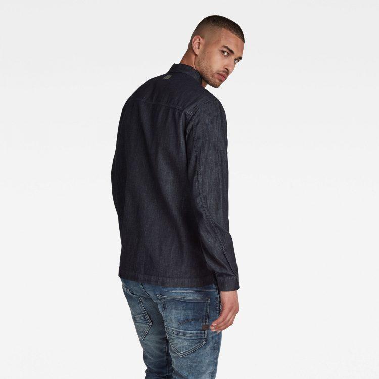 Ανδρικό Πουκάμισο G-Star Multi Slant Pocket Denim Relaxed Shirt | Αυθεντικό 2