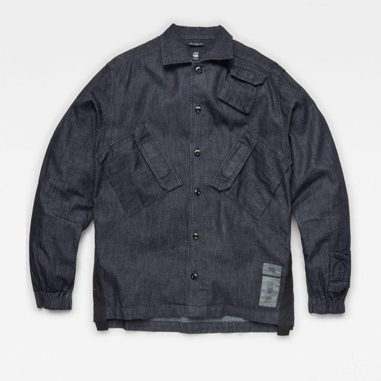 Ανδρικό Πουκάμισο G-Star Multi Slant Pocket Denim Relaxed Shirt | Αυθεντικό 3