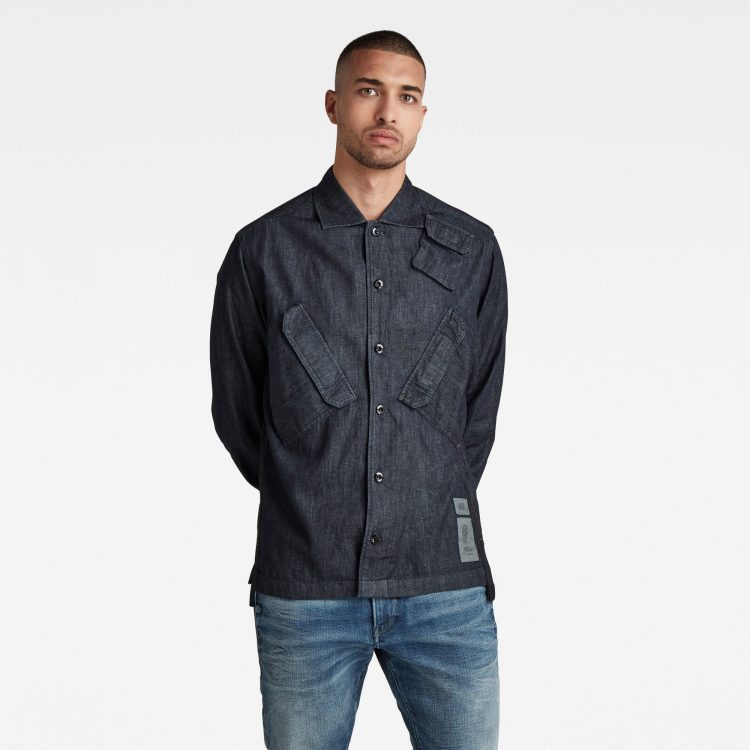 Ανδρικό παντελόνι G-Star Multi Slant Pocket Denim Relaxed Shirt Αυθεντικό