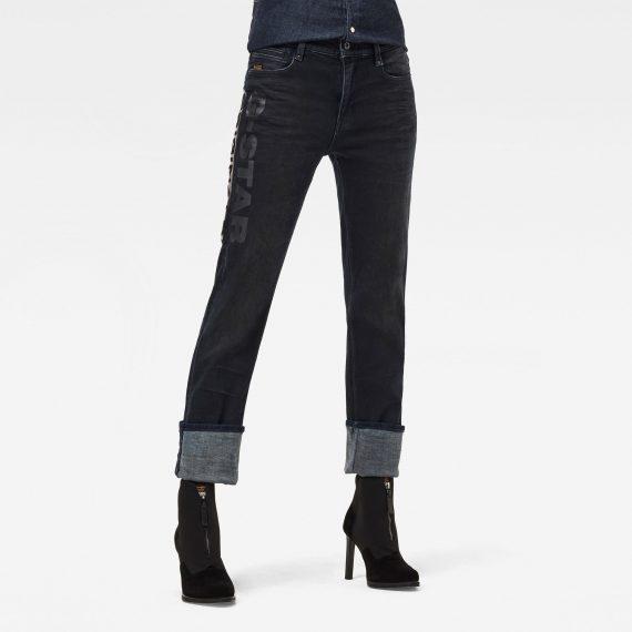 Ανδρικό παντελόνι G-Star Noxer Straight Artwork Jeans Αυθεντικό