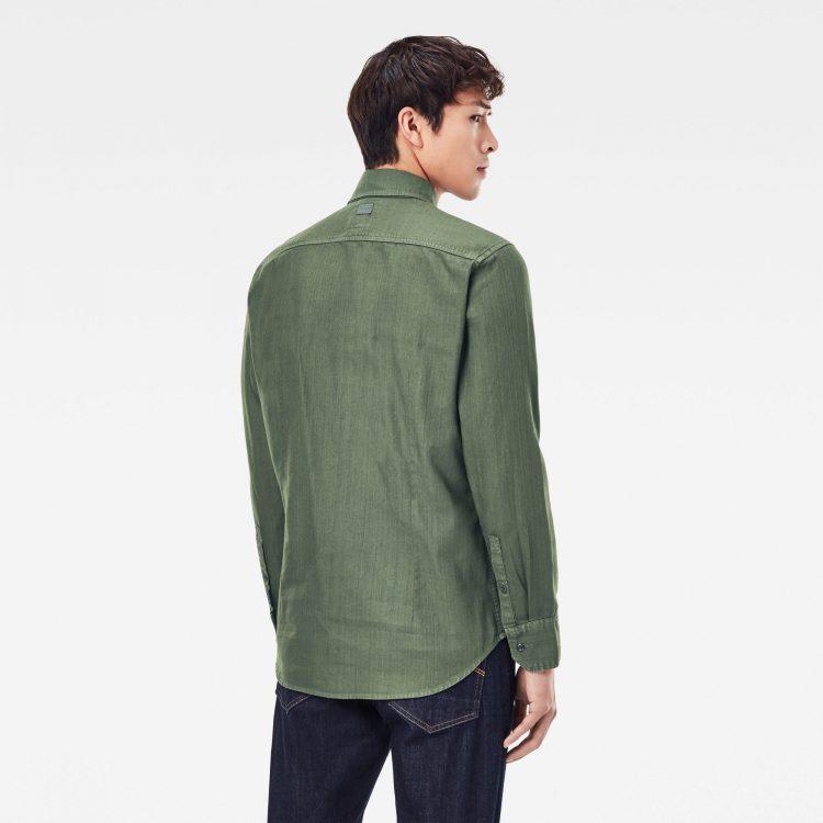 Ανδρικό Πουκάμισο G-Star Panelled Pocket Slim Shirt   Αυθεντικό 2