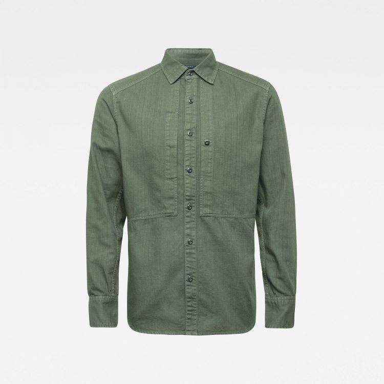 Ανδρικό Πουκάμισο G-Star Panelled Pocket Slim Shirt   Αυθεντικό 3
