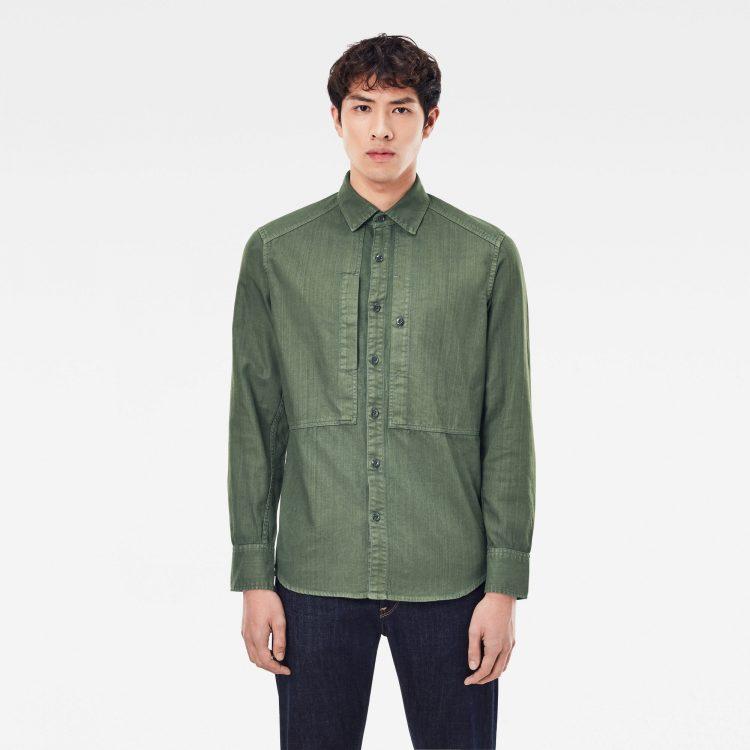 Ανδρικό παντελόνι G-Star Panelled Pocket Slim Shirt Αυθεντικό
