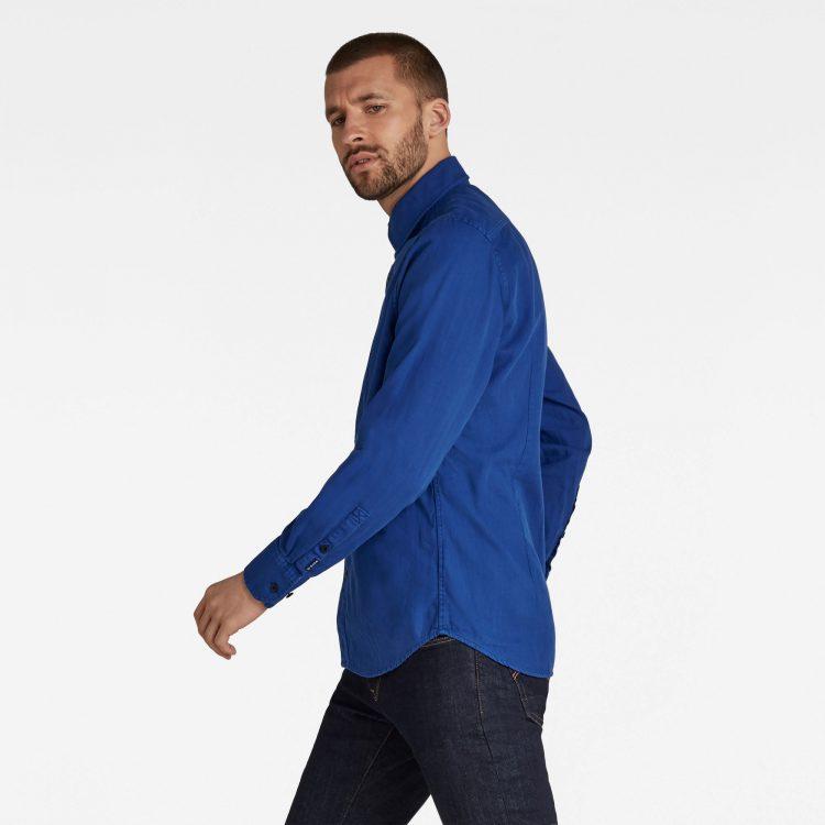 Ανδρικό Πουκάμισο G-Star Panelled Pocket Slim Shirt   Αυθεντικό 1