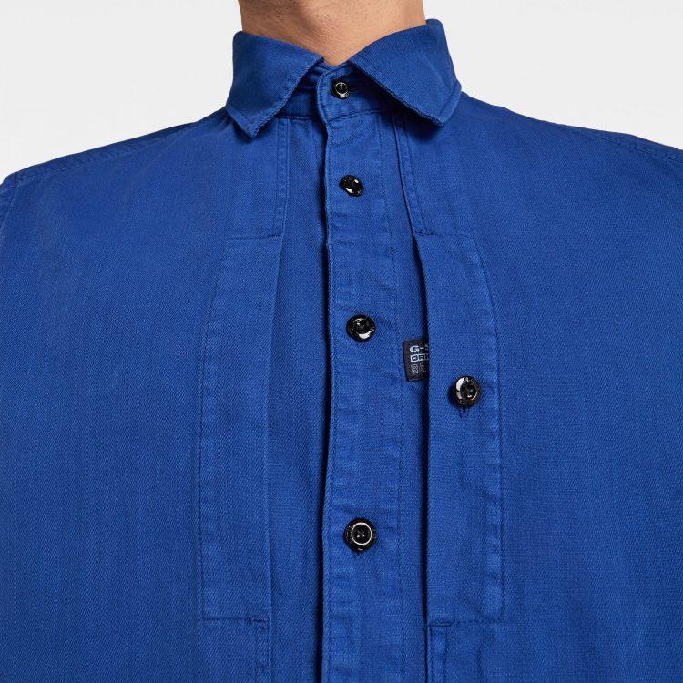 Ανδρικό Πουκάμισο G-Star Panelled Pocket Slim Shirt   Αυθεντικό 4