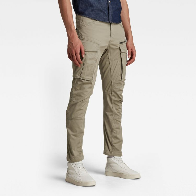 Ανδρικό παντελόνι G-Star Rovic Zip 3D Straight Tapered Pant Αυθεντικό