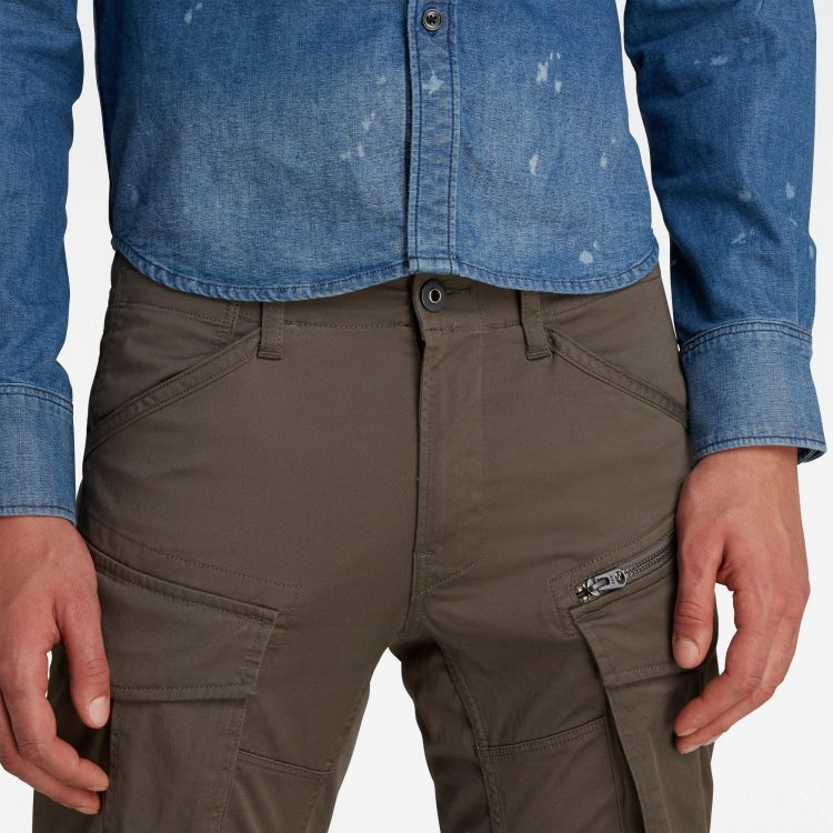 Ανδρικό παντελόνι G-Star Rovic Zip 3D Straight Tapered Pant | Αυθεντικό 4