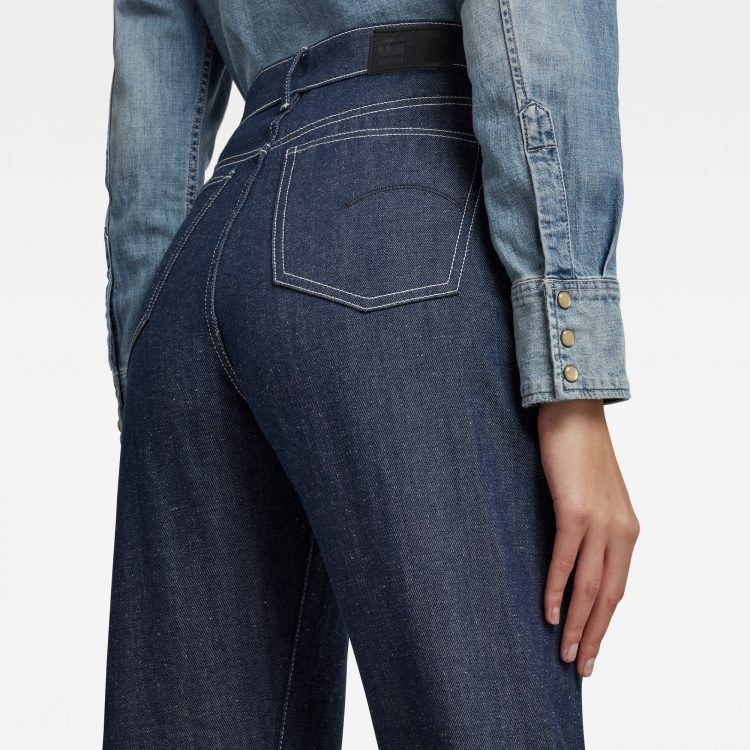 Γυναικείο παντελόνι G-Star Tedie Ultra High Long Straight Jeans C | Αυθεντικό 2