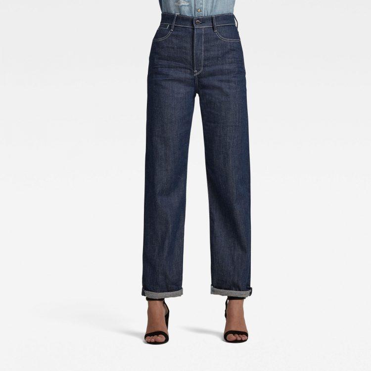 Ανδρικό παντελόνι G-Star Tedie Ultra High Long Straight Jeans C Αυθεντικό