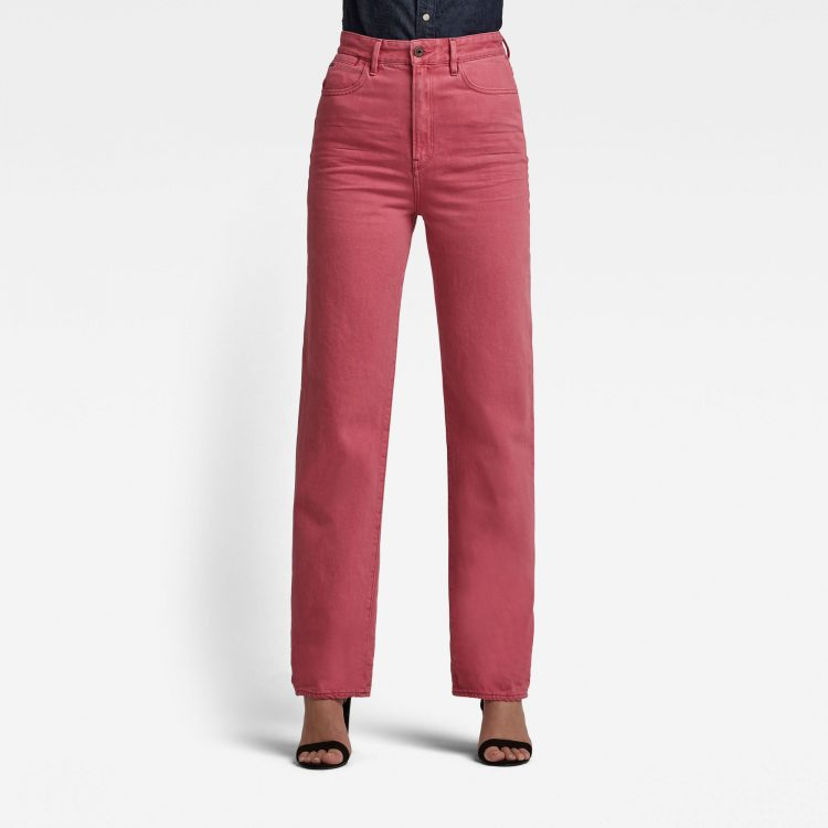 Ανδρικό παντελόνι G-Star Tedie Ultra High Long Straight Jeans Αυθεντικό