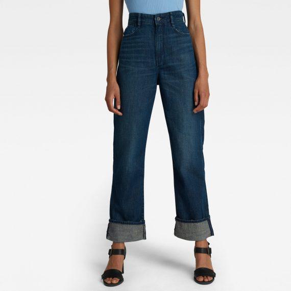 Ανδρικό παντελόνι G-Star Tedie Ultra High Straight Jeans Αυθεντικό
