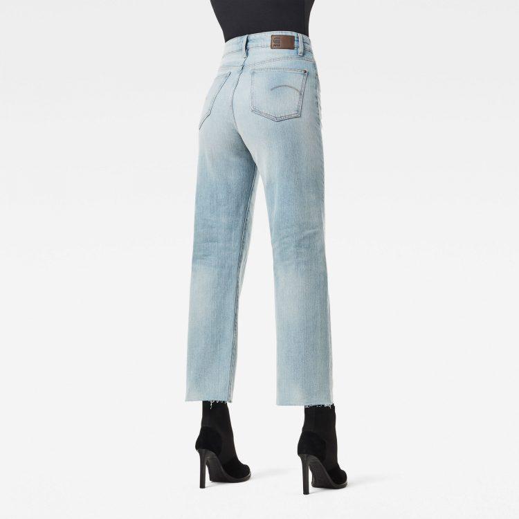 Γυναικείο παντελόνι G-Star Tedie Ultra High Straight Raw Edge Ankle Jeans | Αυθεντικό 1