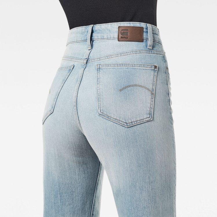 Γυναικείο παντελόνι G-Star Tedie Ultra High Straight Raw Edge Ankle Jeans | Αυθεντικό 2