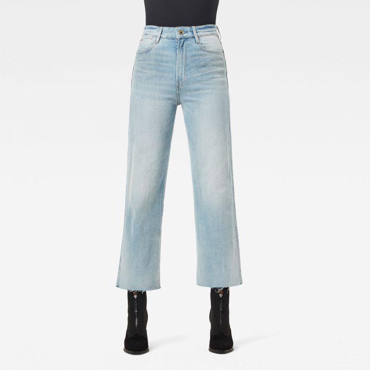 Ανδρικό παντελόνι G-Star Tedie Ultra High Straight Raw Edge Ankle Jeans Αυθεντικό