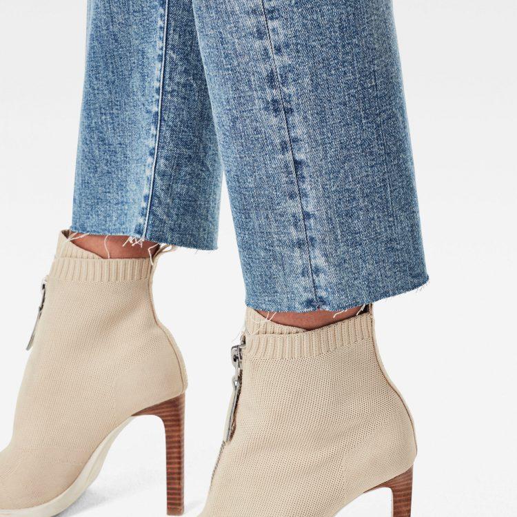 Γυναικείο παντελόνι G-Star Tedie Ultra High Straight Ripped Edge Ankle Jeans | Αυθεντικό 4