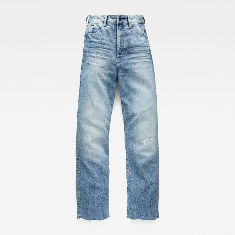 Γυναικείο παντελόνι G-Star Tedie Ultra High Straight Ripped Edge Ankle Jeans | Αυθεντικό 3