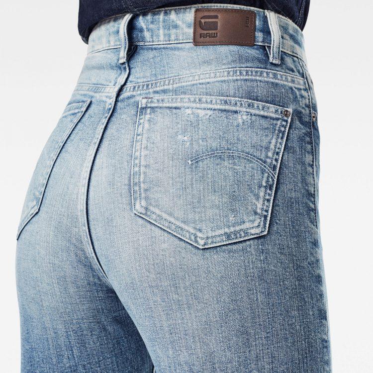 Γυναικείο παντελόνι G-Star Tedie Ultra High Straight Ripped Edge Ankle Jeans | Αυθεντικό 2
