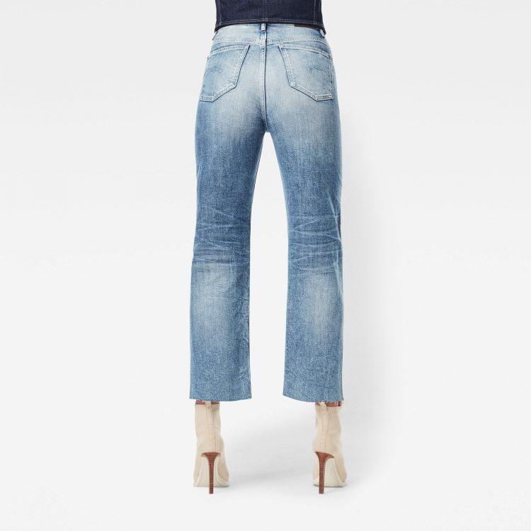 Γυναικείο παντελόνι G-Star Tedie Ultra High Straight Ripped Edge Ankle Jeans | Αυθεντικό 1