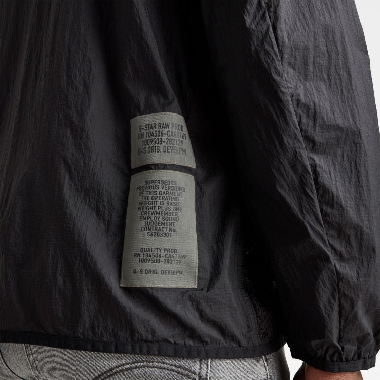 Ανδρικό G-Star Utility Fabric Mix Field Jacket | Αυθεντικό 4