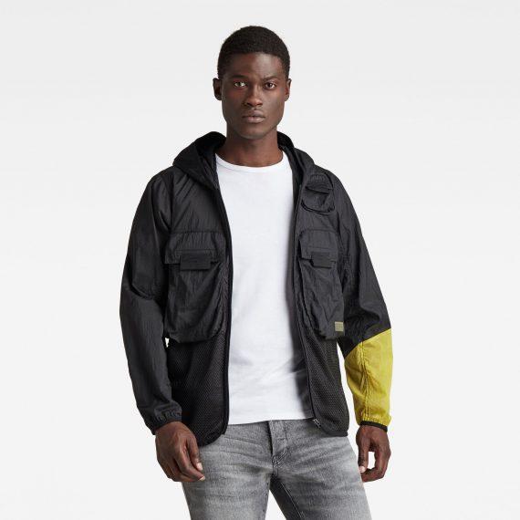 Ανδρικό παντελόνι G-Star Utility Fabric Mix Field Jacket Αυθεντικό