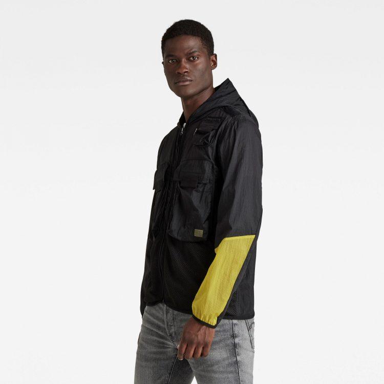 Ανδρικό G-Star Utility Fabric Mix Field Jacket | Αυθεντικό 1