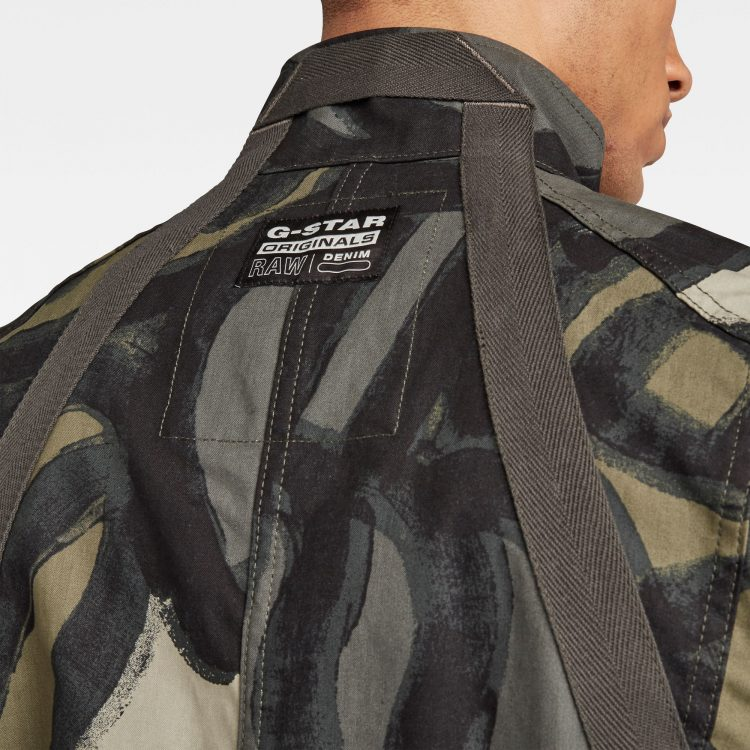 Ανδρικό G-Star Utility HB Tape Jacket | Αυθεντικό 4