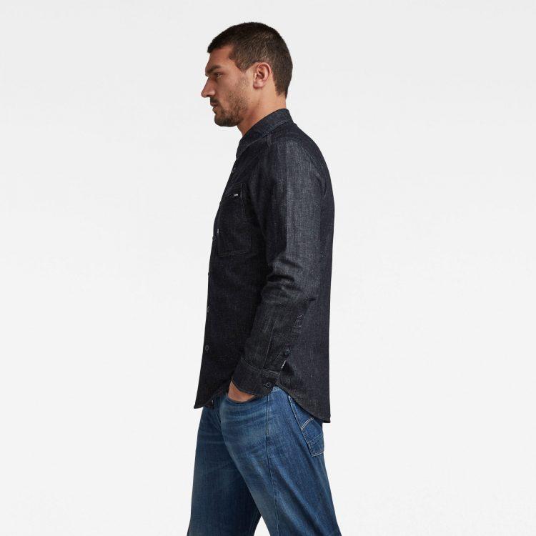 Ανδρικό Πουκάμισο G-Star Zip Pocket Slim Shirt | Αυθεντικό 1