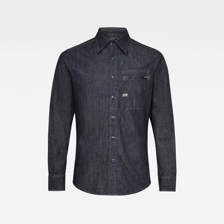 Ανδρικό Πουκάμισο G-Star Zip Pocket Slim Shirt | Αυθεντικό 3