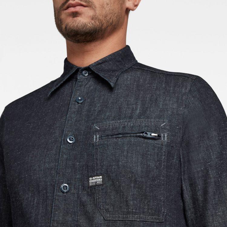 Ανδρικό Πουκάμισο G-Star Zip Pocket Slim Shirt | Αυθεντικό 4