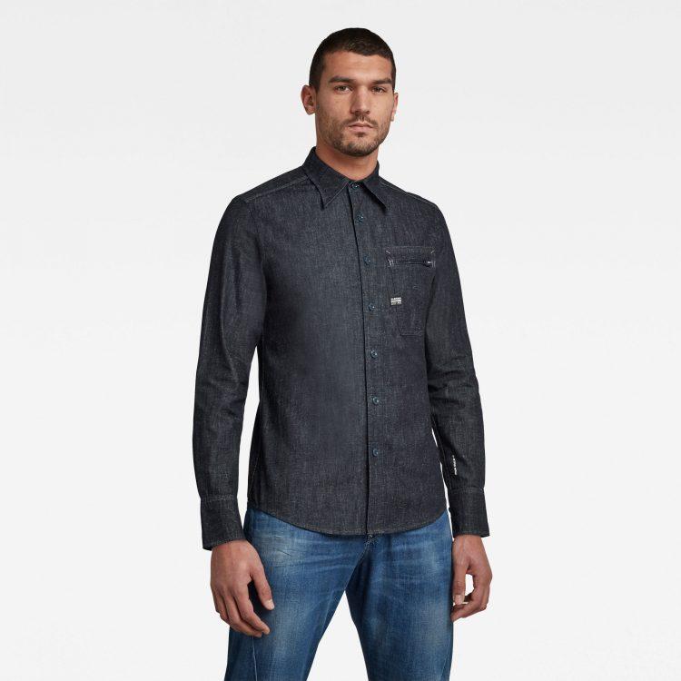 Ανδρικό παντελόνι G-Star Zip Pocket Slim Shirt Αυθεντικό